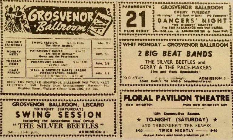 Silver Beetles at the Grosvenor Ballroom