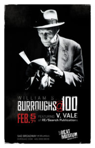 Burroughs @ 100 Poster