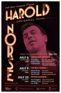 Harold Norse Centennial Poster