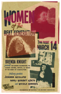 Women of the Beat Generation Poster