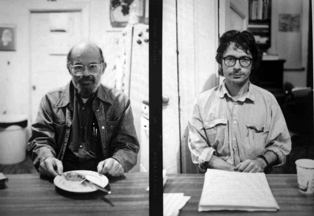 Allen Ginsberg Photographed by Steven Taylor / Steven Taylor Photographed by Allen Ginsberg, NYC 1995 Courtesy of the Estate of Allen Ginsberg