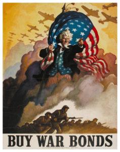 """""""Buy War Bonds"""" Poster"""
