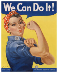 "We Can Do it! (""Rosie the Riveter"") Poster"