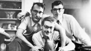 William Burroughs, Lucien Carr, and Allen Ginsberg