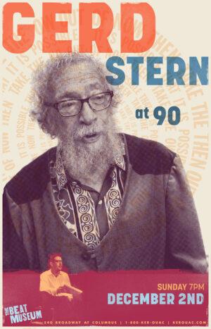 Gerd Stern @ 90 Poster