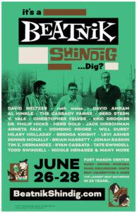 Beatnik Shindig Poster