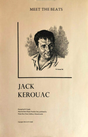 "R. Crumb - ""Meet the Beats"": Jack Kerouac"
