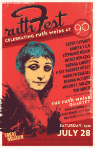 ruthFest poster