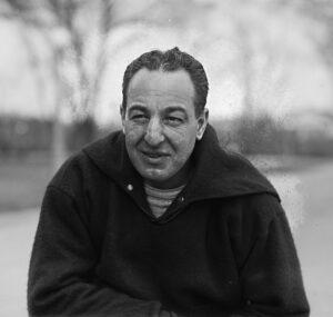 Football Coach Lou Little, Columbia University