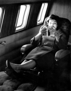 Jackie Kennedy reading Kerouac's 'The Dharma Bums'