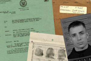 Kerouac's Military Personnel Record