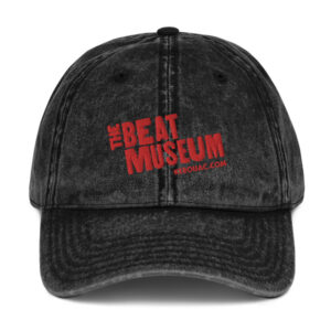 Beat Museum Black Vintage Cap