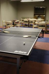 Ping pong table at Lakeview Behavioral Health in Atlanta