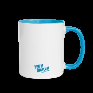 HOWL Mug (blue, back)
