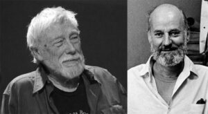 Gary Snyder and Lawrence Ferlinghetti